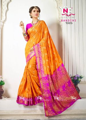 Nandini 1005 Nylon Silk Saree