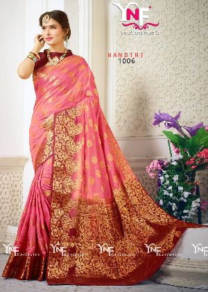 Nandini 1006 Nylon Silk Saree