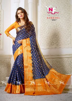 Nandini 1007 Nylon Silk Saree