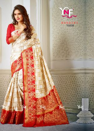 Nandini 1008 Nylon Silk Saree