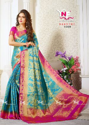 Nandini 1009 Nylon Silk Saree