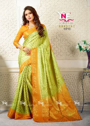 Nandini 1010 Nylon Silk Saree