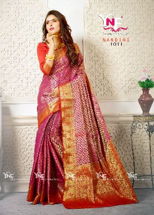 Nandini 1011 Nylon Silk Saree
