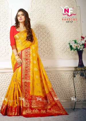 Nandini 1012 Nylon Silk Saree