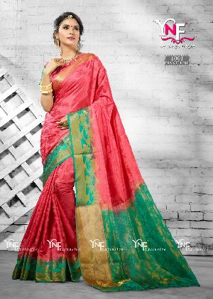 Nanthini 1001 Nylon Silk Saree