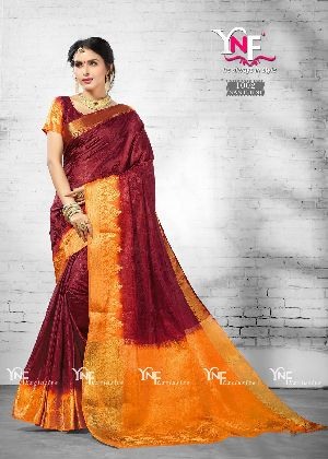 Nanthini 1002 Nylon Silk Saree