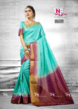Nanthini 1003 Nylon Silk Saree