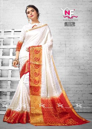 Nanthini 1004 Nylon Silk Saree