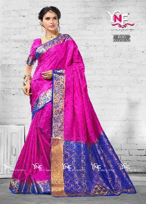 Nanthini 1005 Nylon Silk Saree