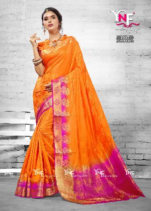 Nanthini 1007 Nylon Silk Saree
