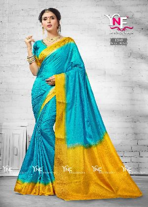 Nanthini 1008 Nylon Silk Saree