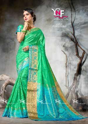 Nayonika 1001 Nylon Silk Saree