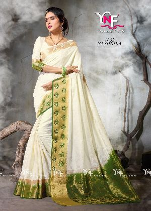 Nayonika 1002 Nylon Silk Saree