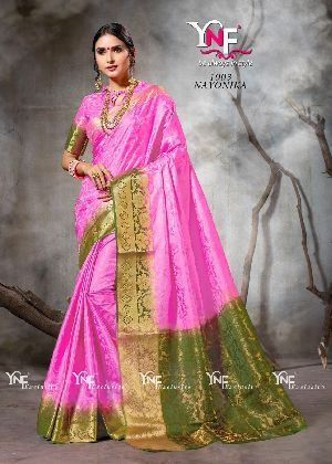 Nayonika 1003 Nylon Silk Saree