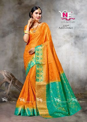 Nayonika 1004 Nylon Silk Saree