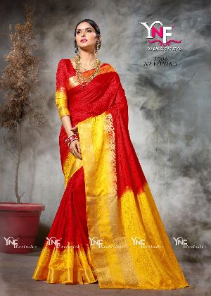 Nayonika 1006 Nylon Silk Saree