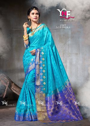 Nayonika 1007 Nylon Silk Saree