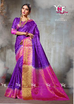 Nayonika 1008 Nylon Silk Saree