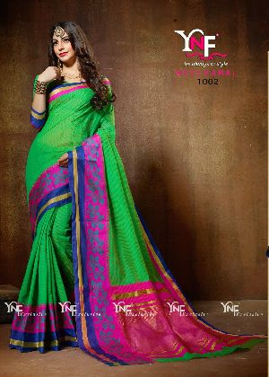 Neelkamal 1002 Cotton Silk Saree