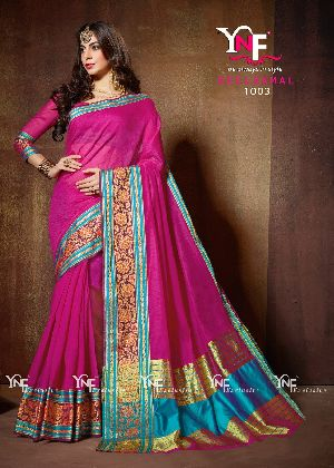 Neelkamal 1003 Cotton Silk Saree
