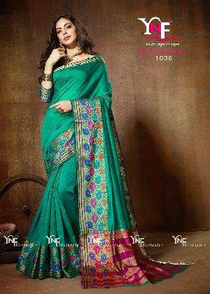Neelkamal 1006 Cotton Silk Saree