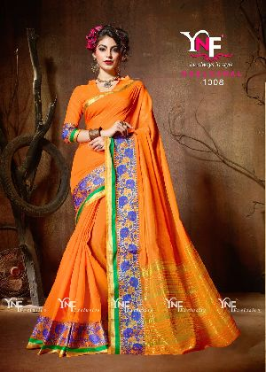 Neelkamal 1008 Cotton Silk Saree