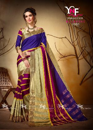 Nilakshi 1001 Cotton Silk Saree