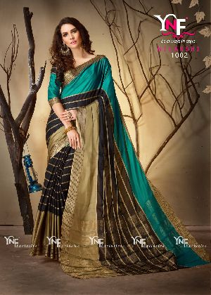 Nilakshi 1002 Cotton Silk Saree