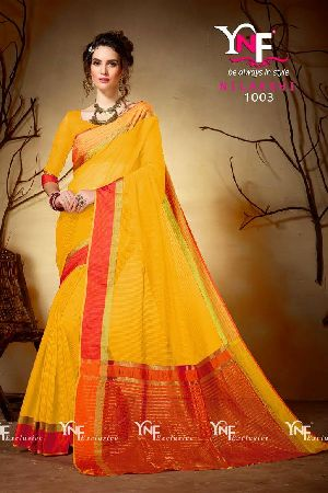 Nilakshi 1003 Cotton Silk Saree