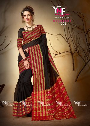 Nilakshi 1005 Cotton Silk Saree
