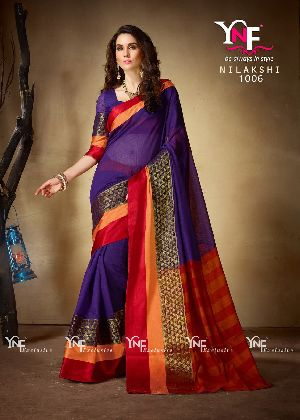 Nilakshi 1006 Cotton Silk Saree