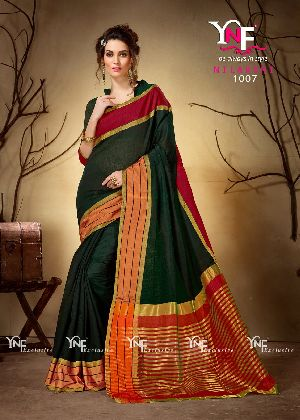 Nilakshi 1007 Cotton Silk Saree