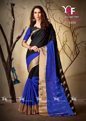 Nilakshi 1009 Cotton Silk Saree