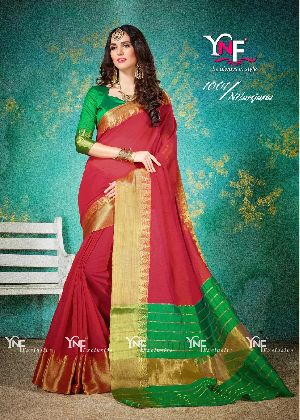 Nilanjana 1001 Cotton Silk Saree