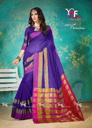 Nilanjana 1002 Cotton Silk Saree
