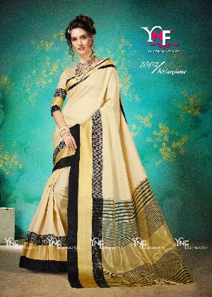 Nilanjana 1003 Cotton Silk Saree