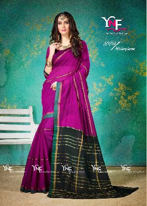 Nilanjana 1004 Cotton Silk Saree