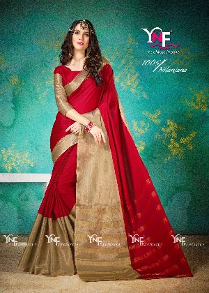 Nilanjana 1005 Cotton Silk Saree