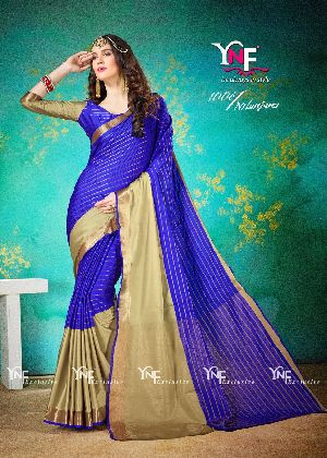 Nilanjana 1006 Cotton Silk Saree