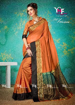 Nilanjana 1007 Cotton Silk Saree