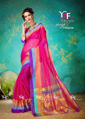 Nilanjana 1008 Cotton Silk Saree