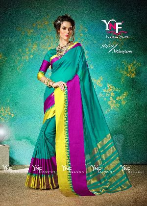 Nilanjana 1009 Cotton Silk Saree