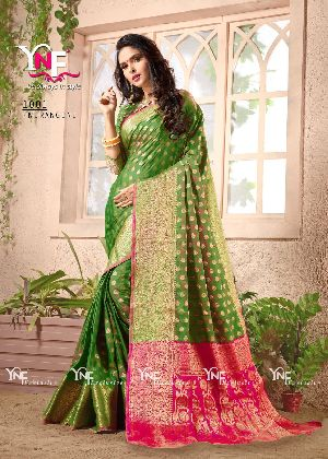 Nirangini 1001 Nylon Silk Saree