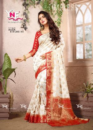 Nirangini 1002 Nylon Silk Saree