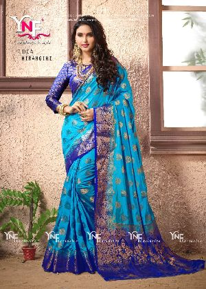 Nirangini 1004 Nylon Silk Saree
