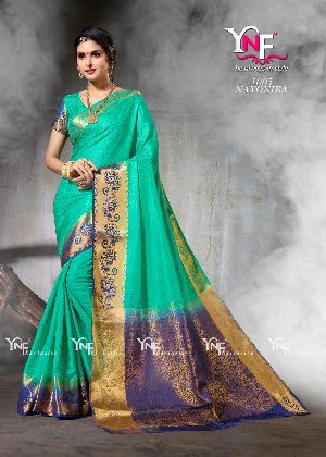 Nirangini 1005 Nylon Silk Saree