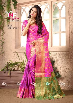Nirangini 1006 Nylon Silk Saree