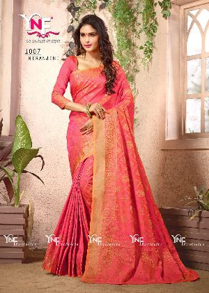Nirangini 1007 Nylon Silk Saree