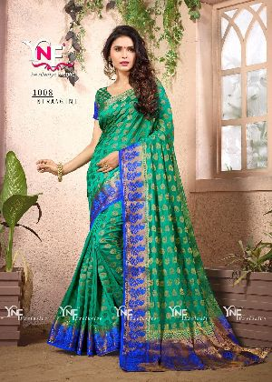 Nirangini 1008 Nylon Silk Saree