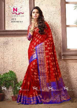 Nirangini 1009 Nylon Silk Saree